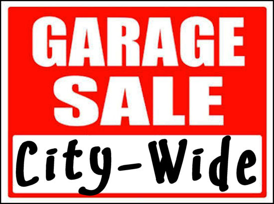 City Wide Rummage Sales 2019