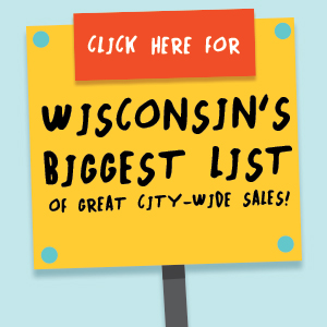 2018 Wisconsin City/Village/Town Wide Rummage Sale BIG LIST
