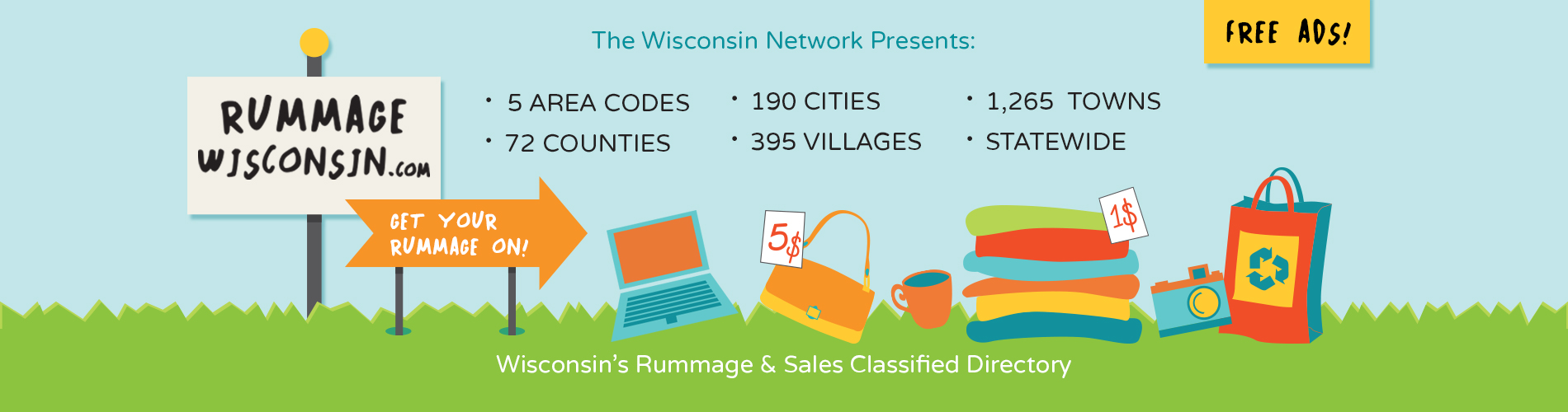 Rummage Wisconsin.com, Free Rummage Sale Classified Ads, Rummage ...