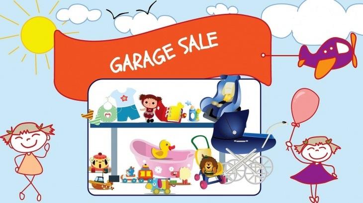 Garage Sale Classified Ad