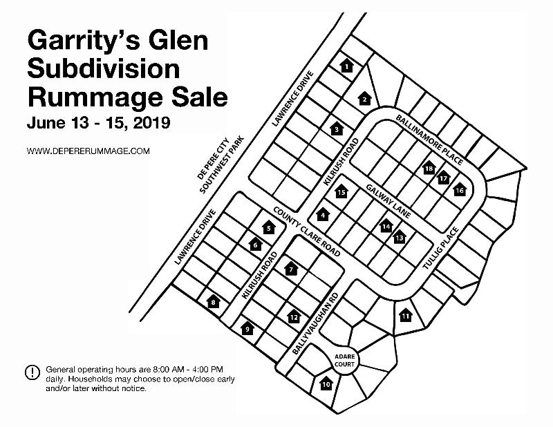 Garrity's Glen Subdivision Rummage Sale (Southwest De Pere